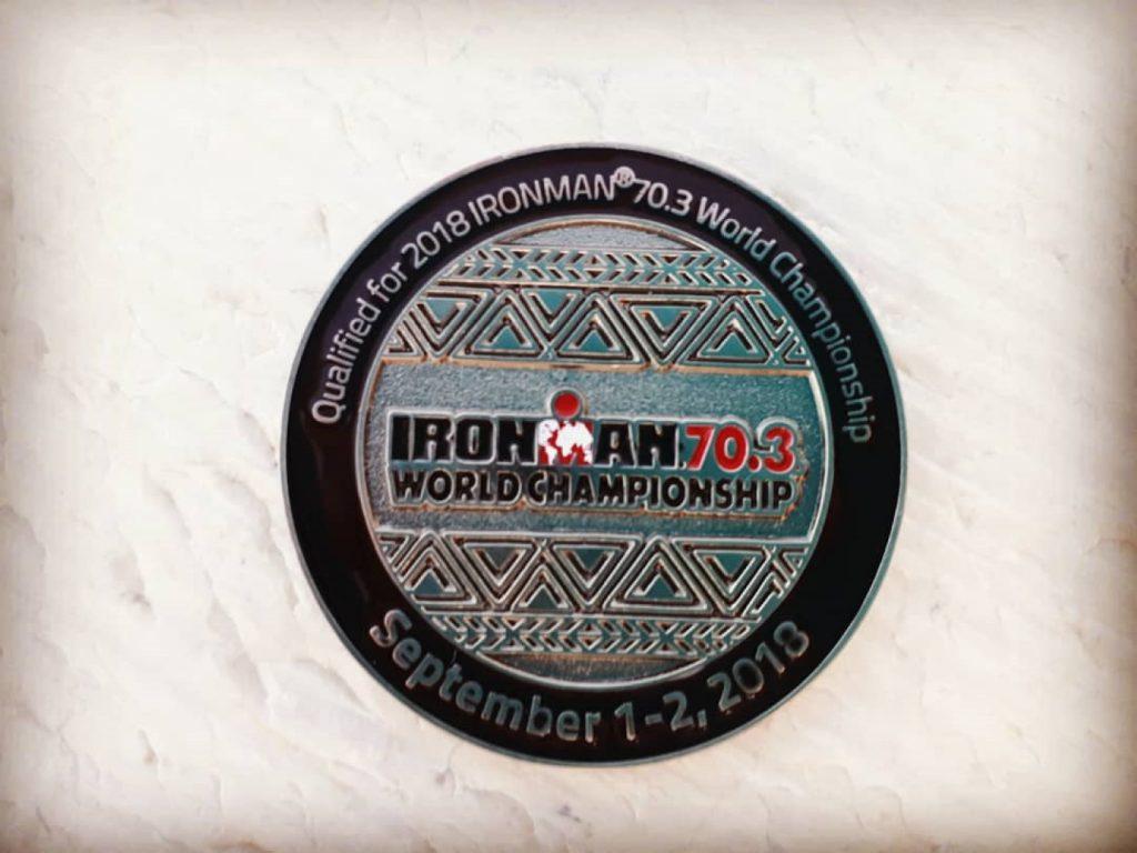 Münze Qualifikation Ironman 70.3 WM