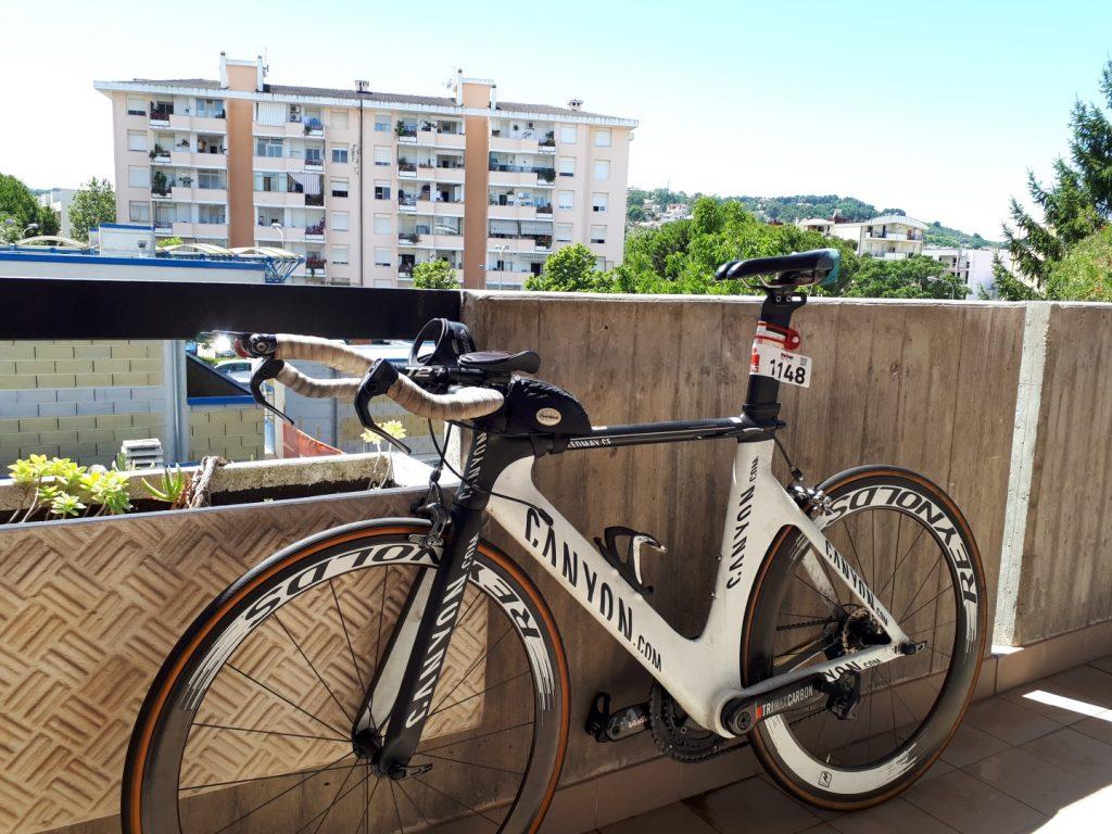Rad Zeitfahrrad Ironman 70.3 Pescara Italien