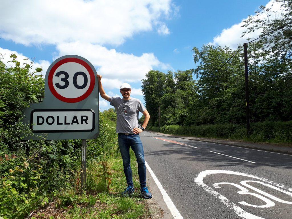 Dollar Pfund Schottland