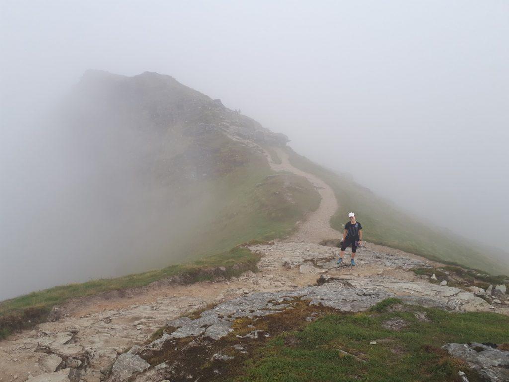 Ben Lomond Wolken Highlands Schottland