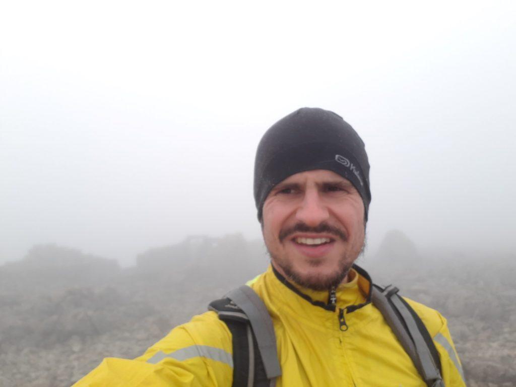 Ben Nevis Wolken Highlands Schottland