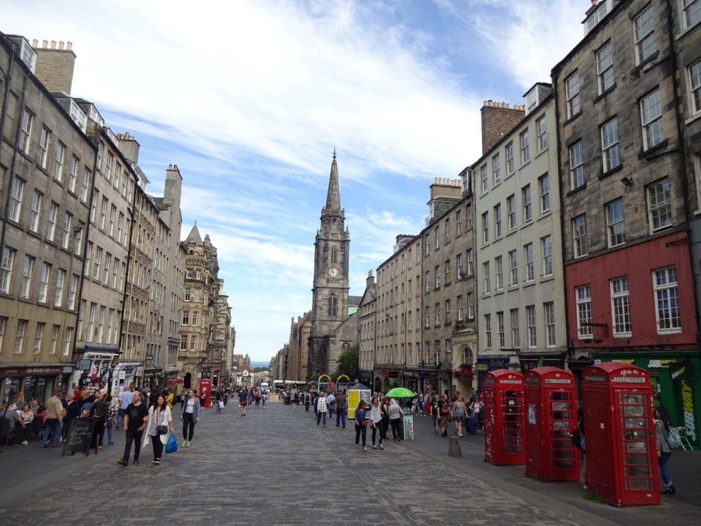 Royal Mile Edinburgh Schottland