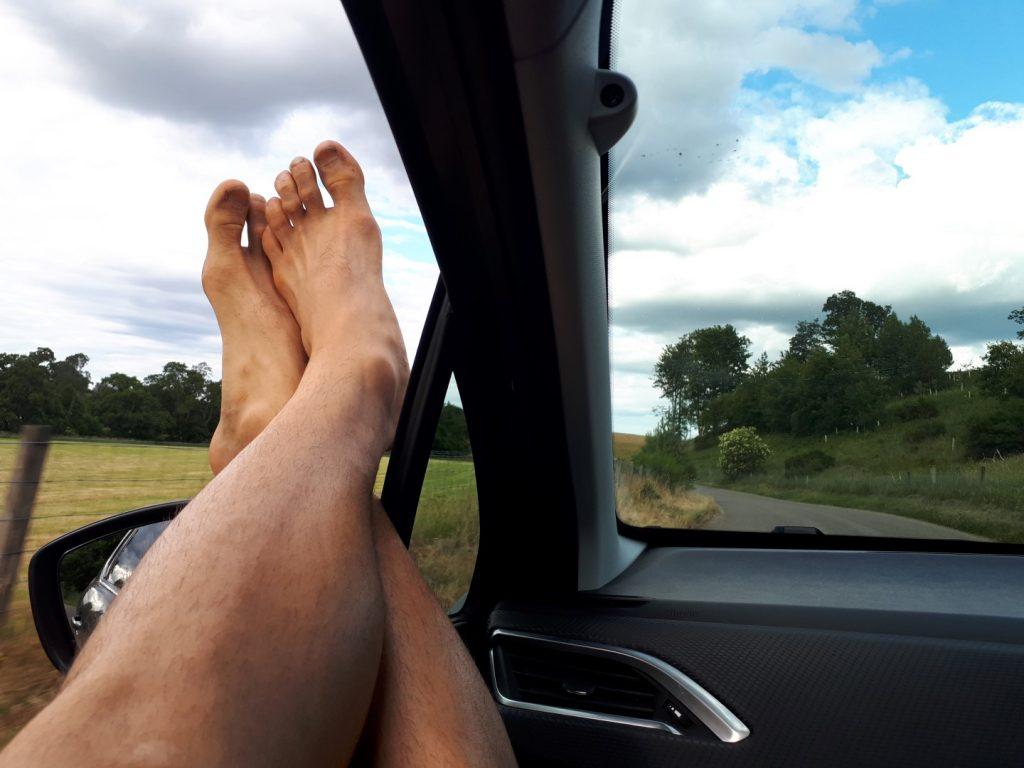 Marko Navigieren Fahren Rundreise Schottland