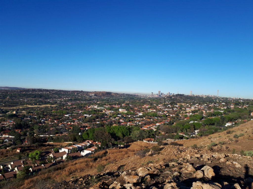 Aussicht Johannesburg