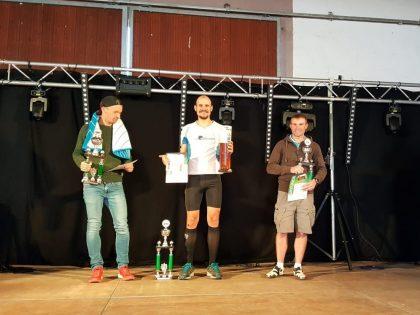 Siegerehrung PfalzTrail Ultra 2018 Marko Gränitz
