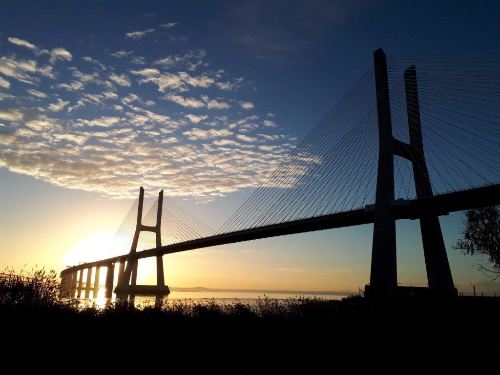 Ponte Vasco da Gama Lissabon Portugal
