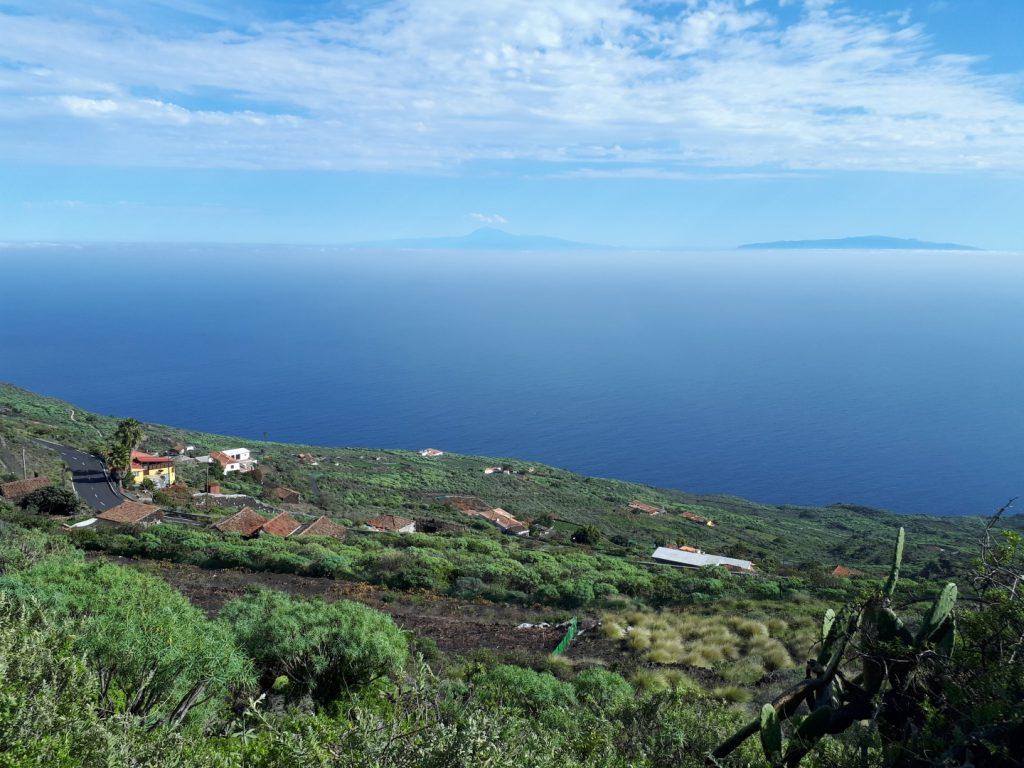 Aussicht Teneriffa Gomera La Palma Kanaren