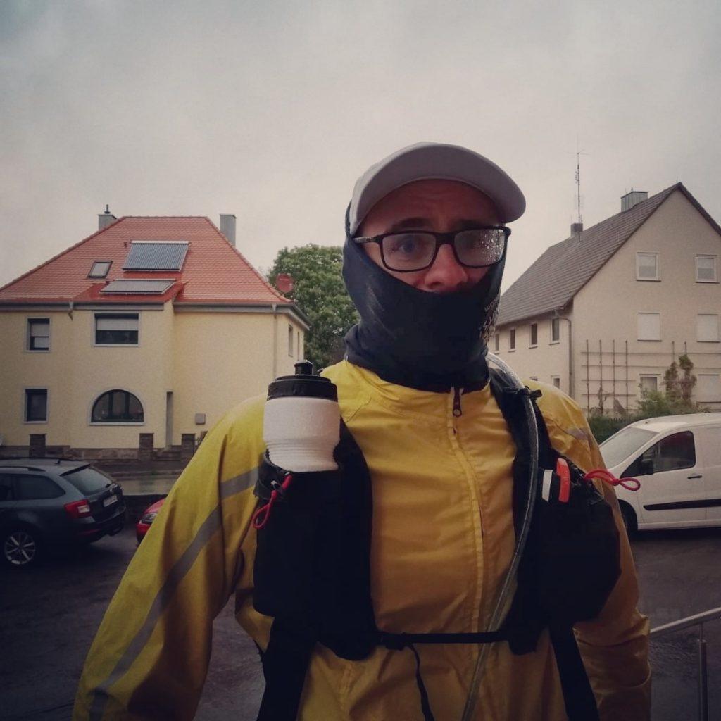 Marko Gränitz Gollhofen Regen Run Across Germany Deutschlandlauf