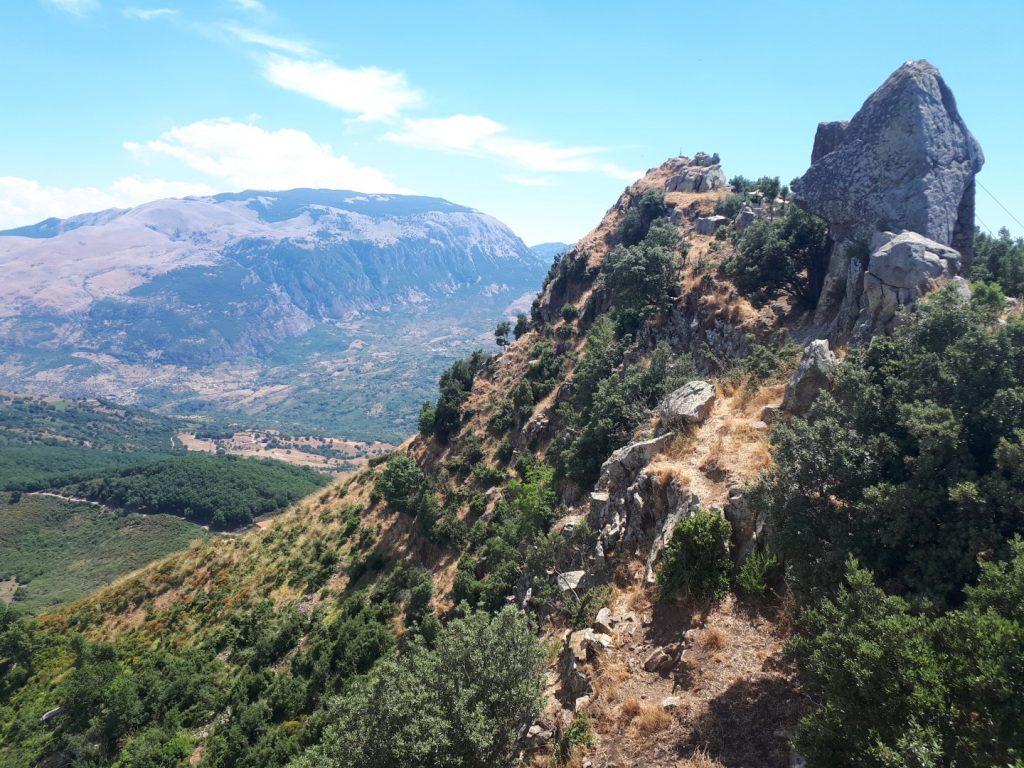 Berg Hinterland Cefalu Sizilien Italien
