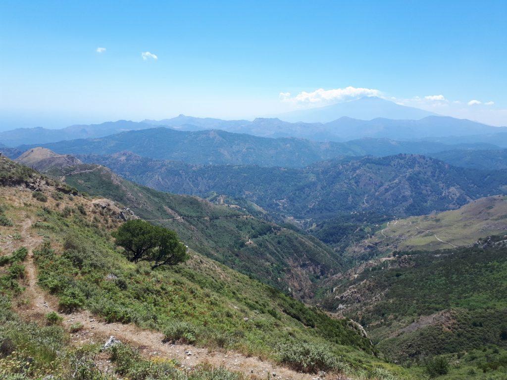 Riserva Naturale Fiumedinisi Ätna Sizilien Italien
