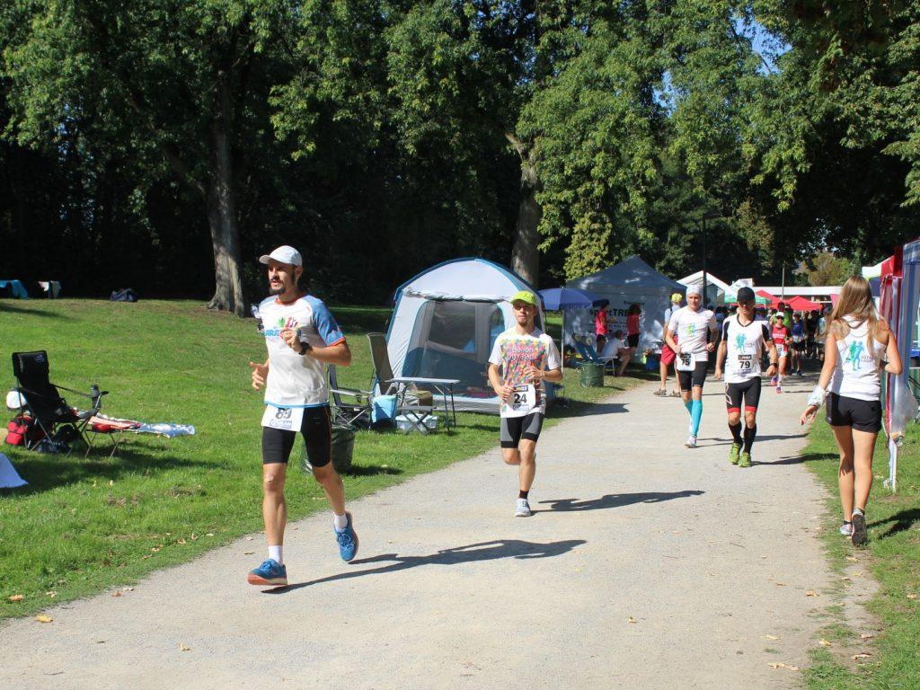 24 Stunden Lauf Deutsche Meisterschaft 2019 Bottrop Hitze