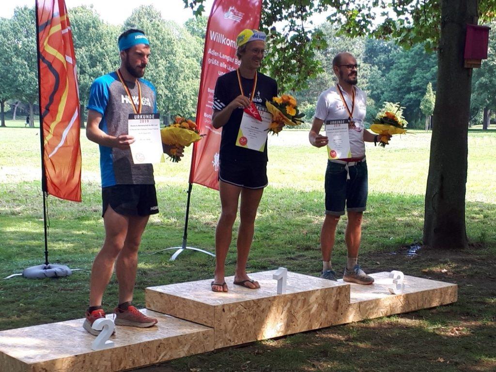 Siegerehrung Männer 24 Stunden Lauf Deutsche Meisterschaft 2019 Bottrop