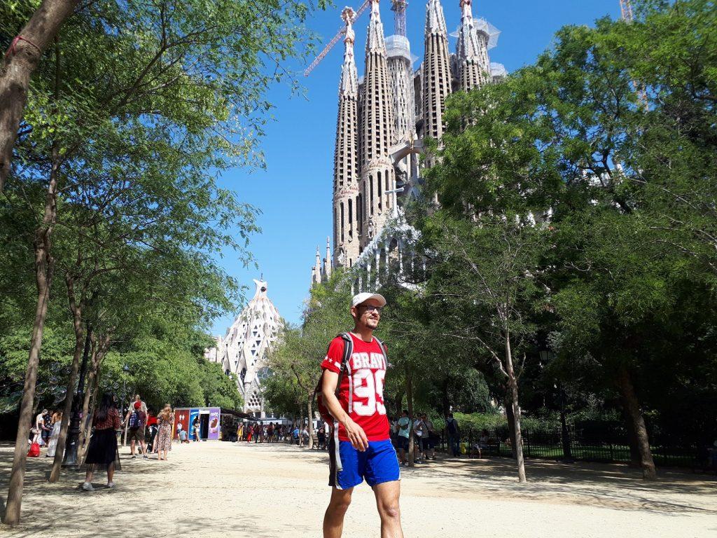 Basilica Sagrada Familia Antoni Gaudi Barcelona