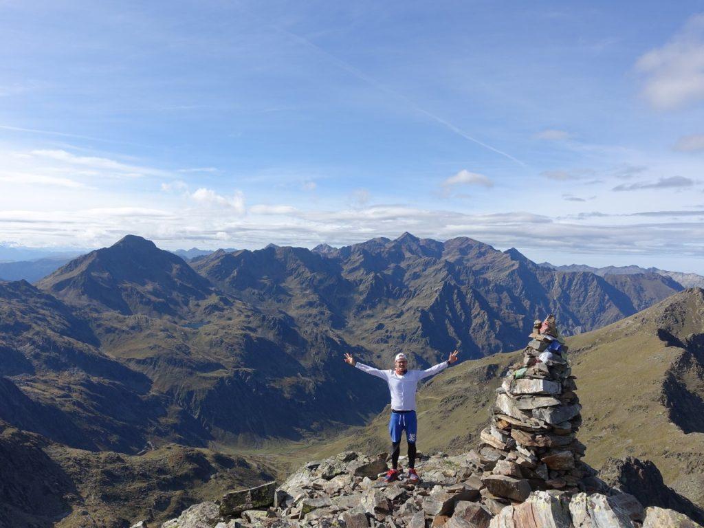 Pic de Cataperdis Andorra Frankreich Pyrenäen