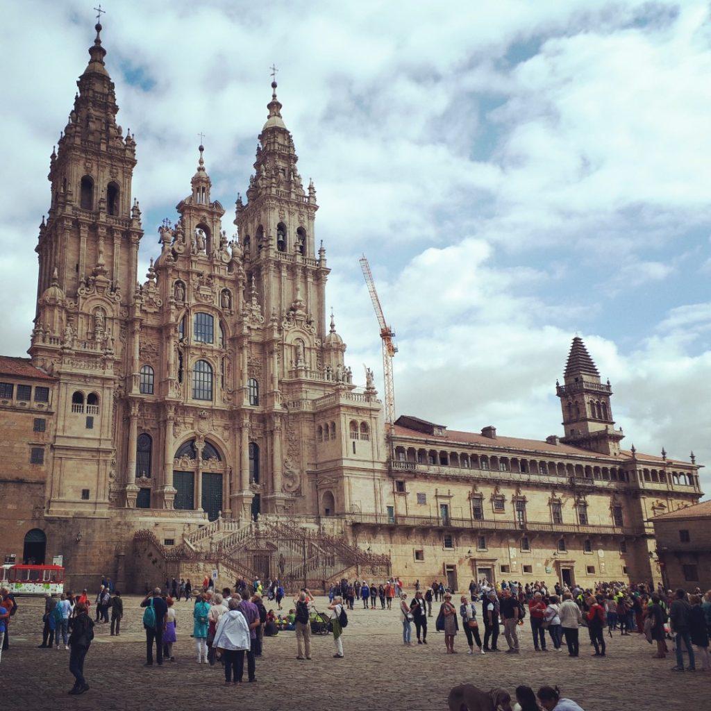 Kathedrale Santiago de Compostela Pilger Ziel
