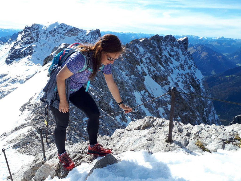 Gatterl Tour Zugspitze oberer Grat Alpen