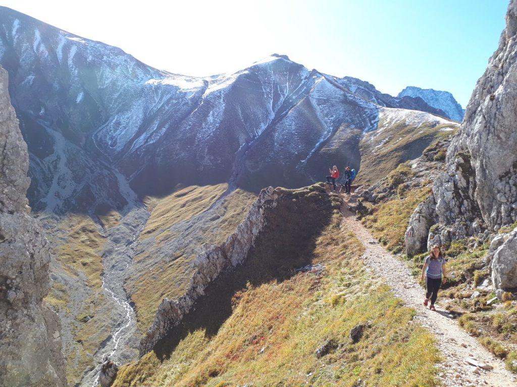 Gatterl Tour Zugspitze Grenze Österreich Deutschland Alpen