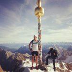 Gipfel Gipfelkreuz Zugspitze Alpen