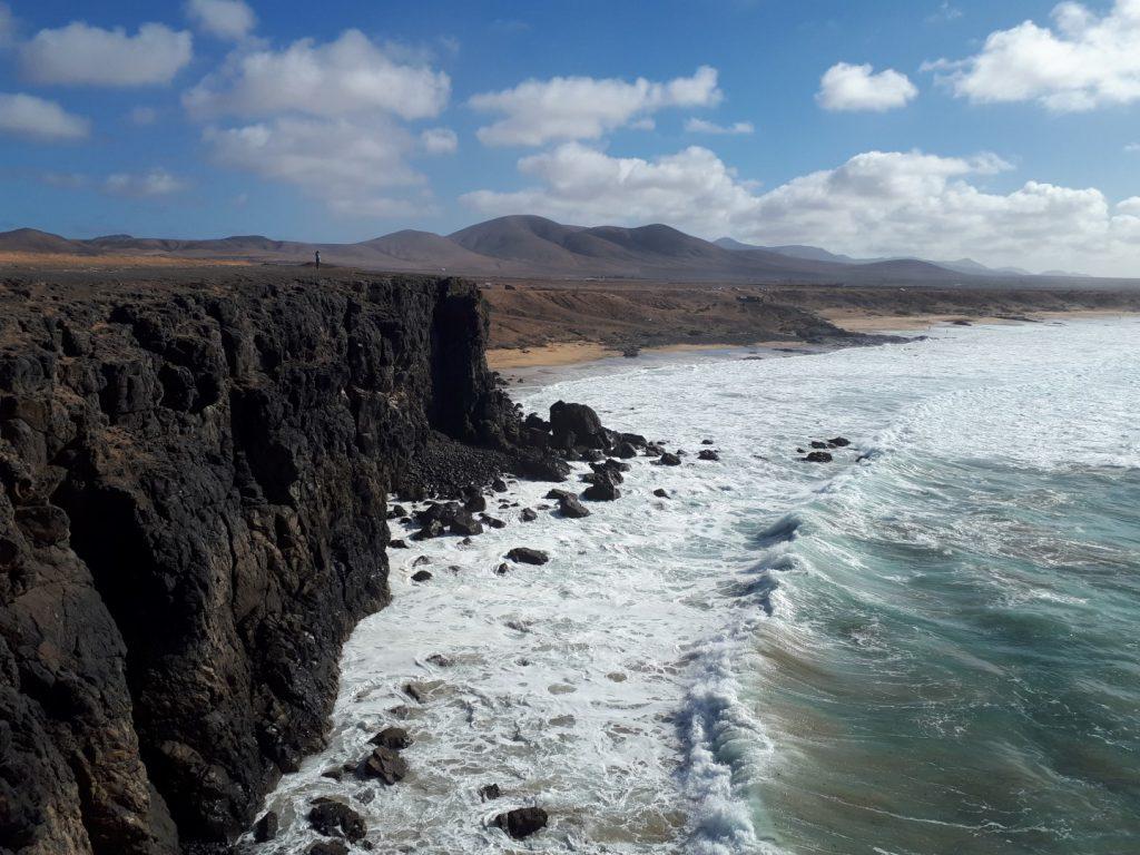 Steilküste El Cotillo Fuerteventura Kanaren