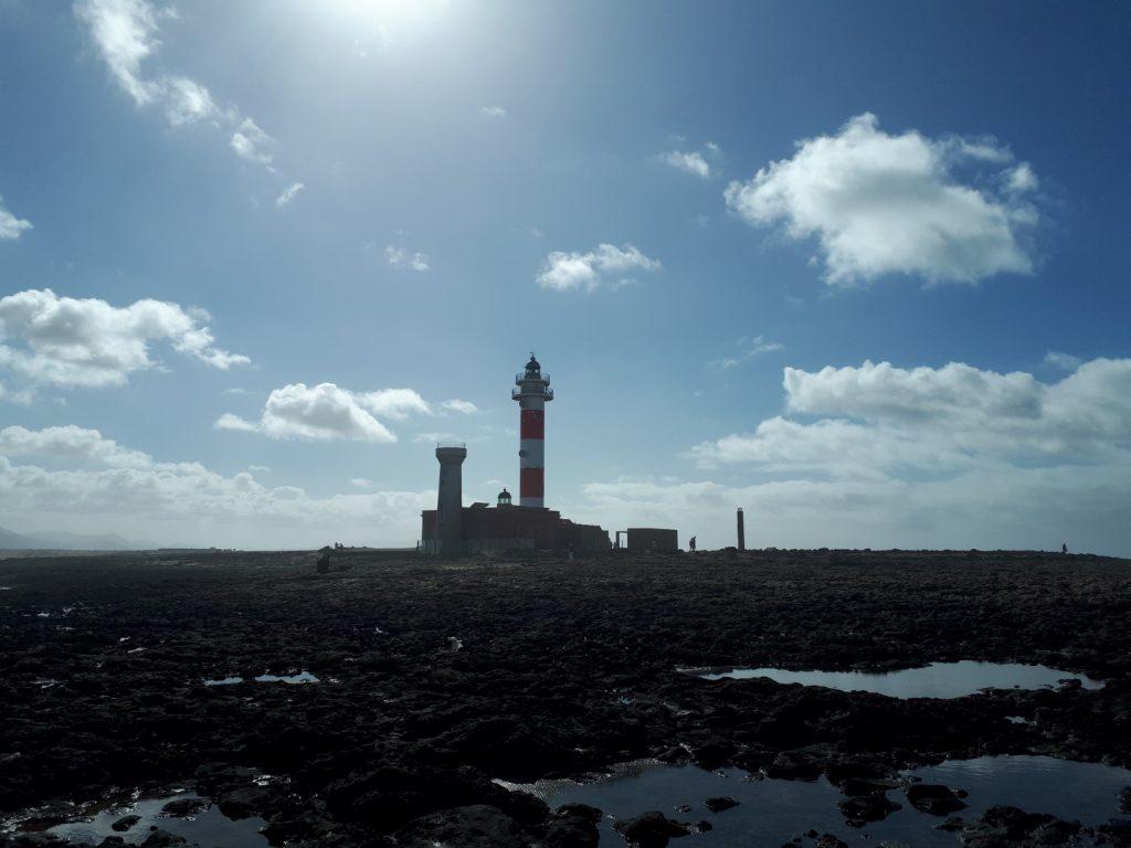 Leuchtturm Faro Toston Fuerteventura Kanaren