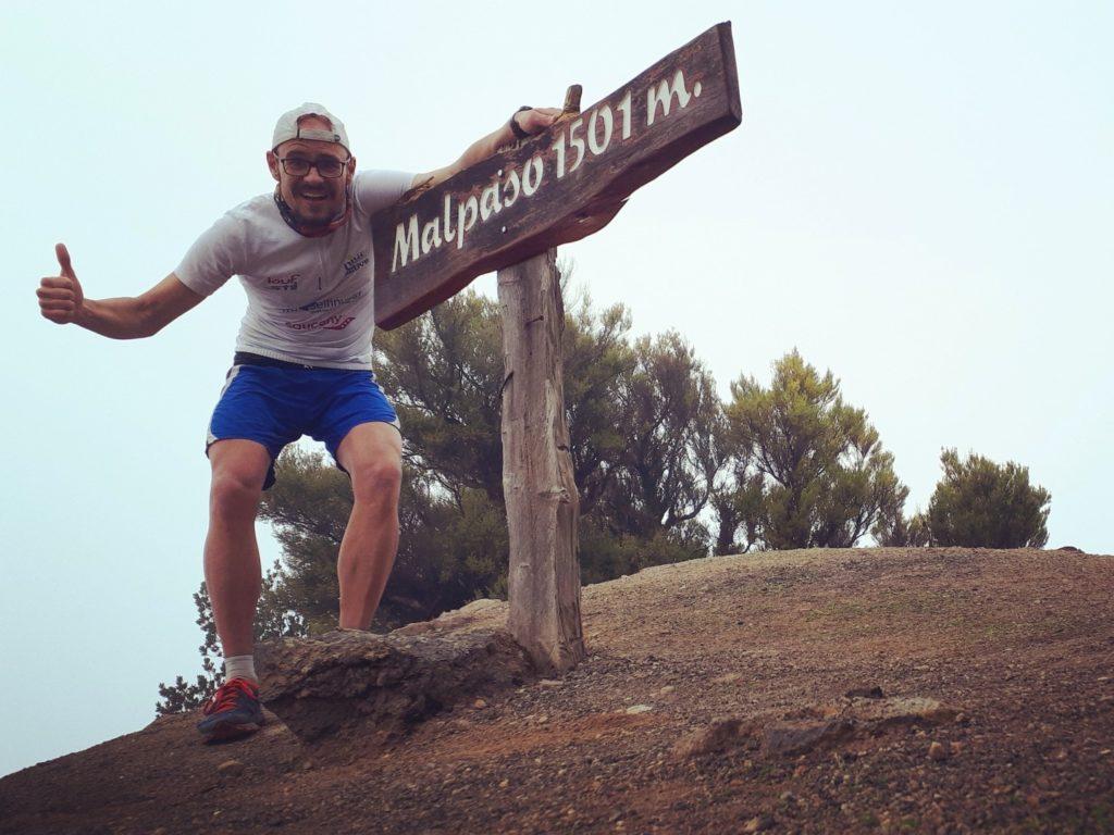 Marko Gränitz Ultraläufer Pico Malpaso El Hierro Kanaren