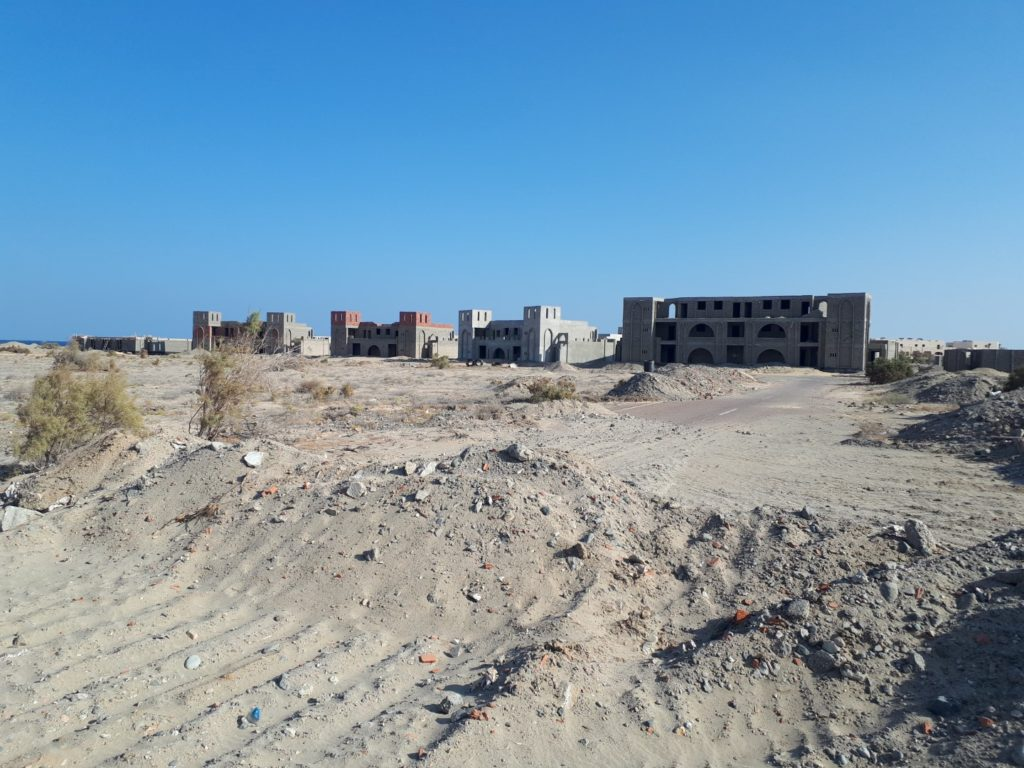 Baustelle Resorts Marsa Alam Ägypten