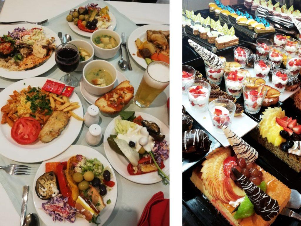 Essen Buffet Malikia Resort Marsa Alam Ägypten