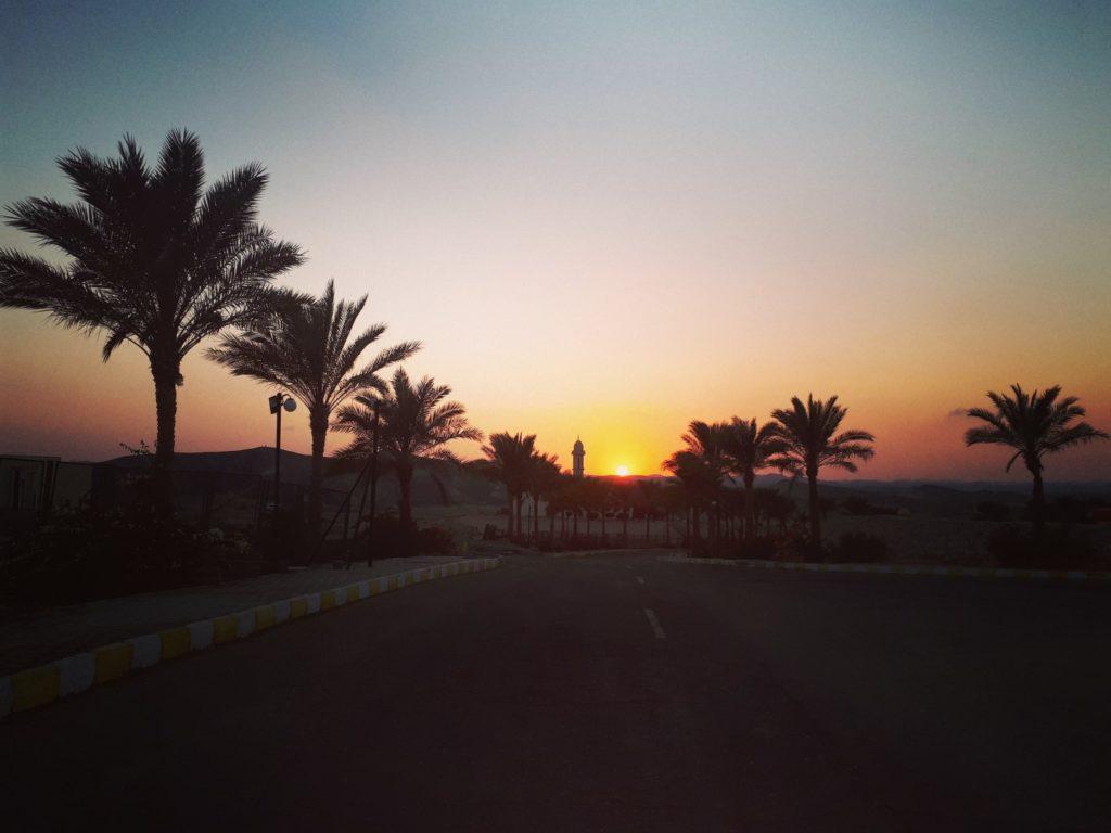 Sonnenuntergang Malikia Resort Marsa Alam Ägypten