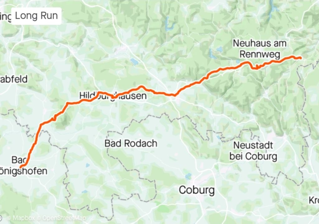Lauf Spechtsbrunn Strava