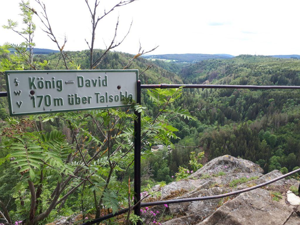 Aussichtspunkt König David Hirschsprung Höllental