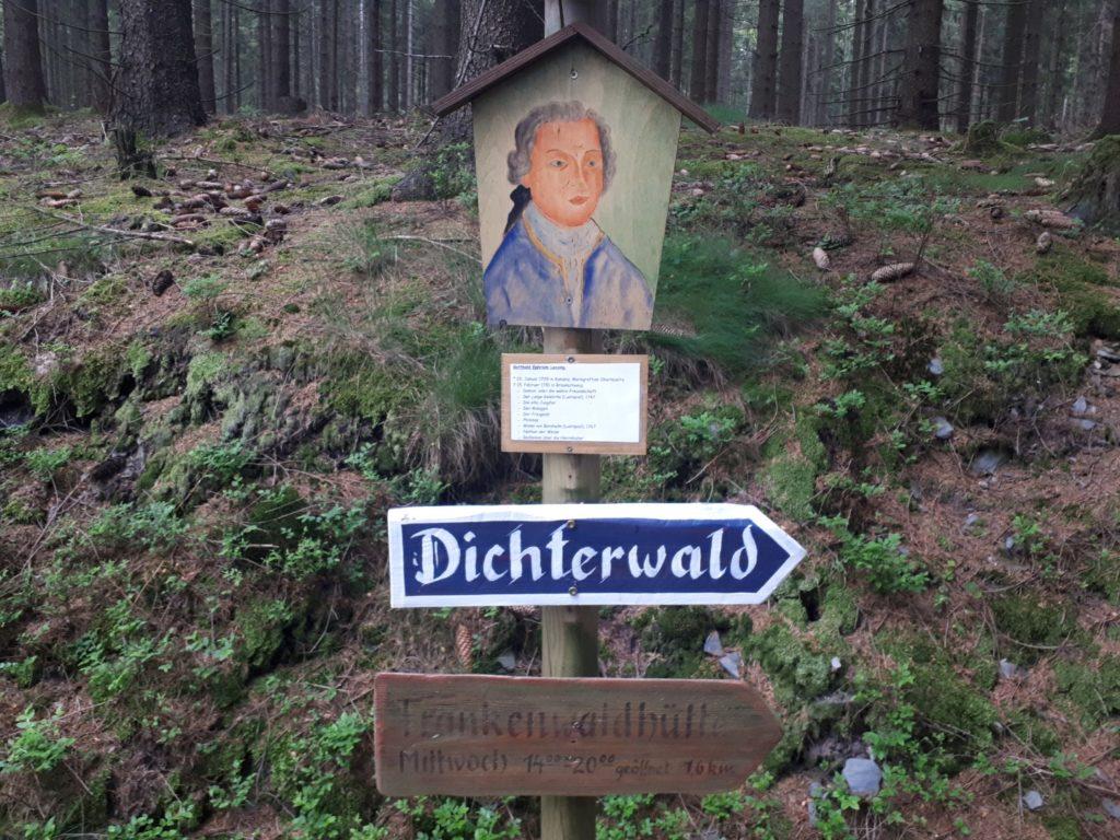 Dichterwald Rennsteig Thüringer Wald