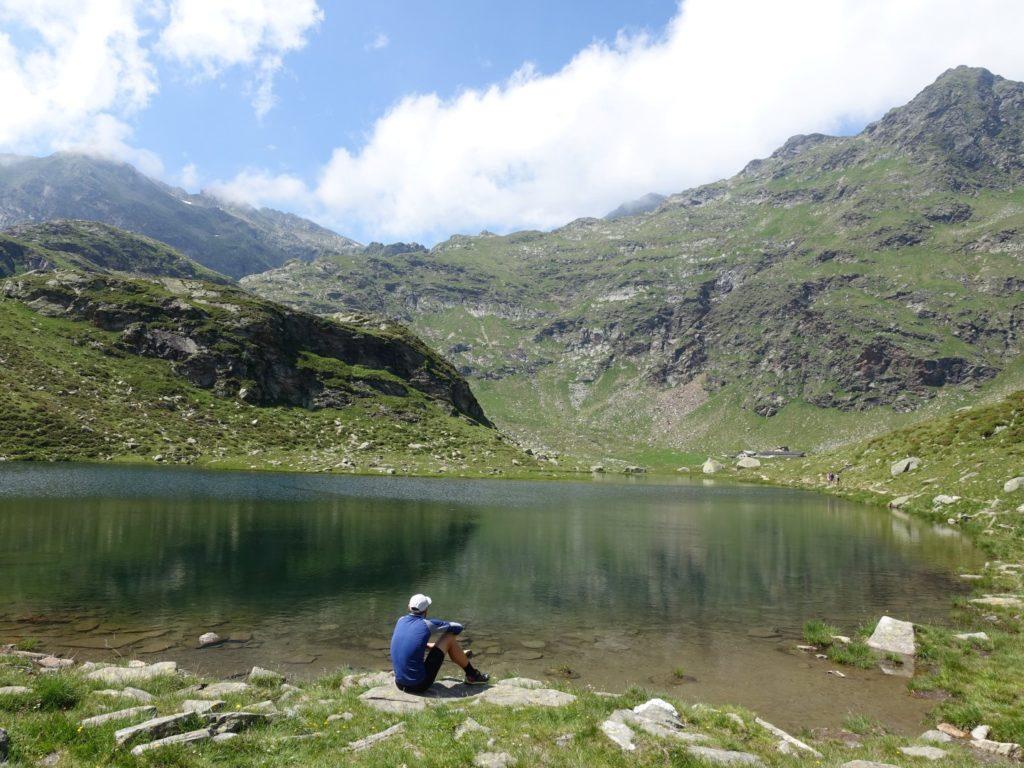 Bergsee Texelgruppe Südtirol Italien Alpen