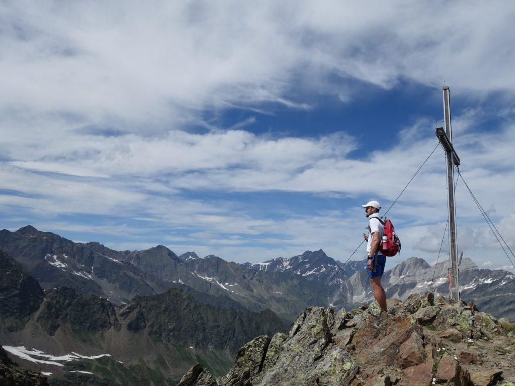 Zielspitz Gipfel Texelgruppe Südtirol Italien Alpen