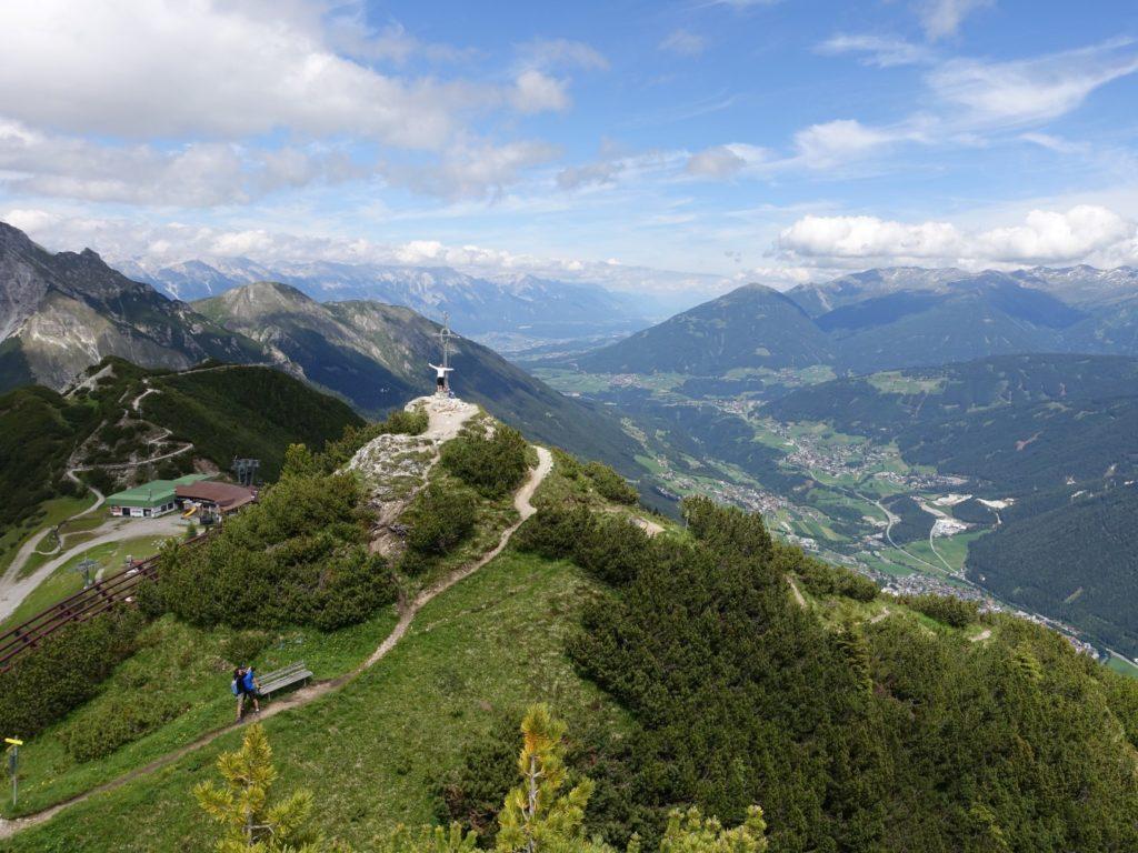 Kreuzjoch Stubai Stubaital Österreich Alpen