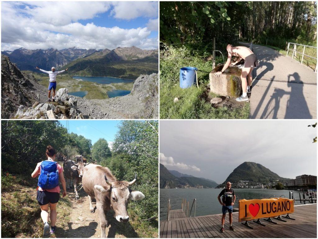 Hiking Bergwandern Laufen Lauftraining Lago Maggiore Tessin Schweiz