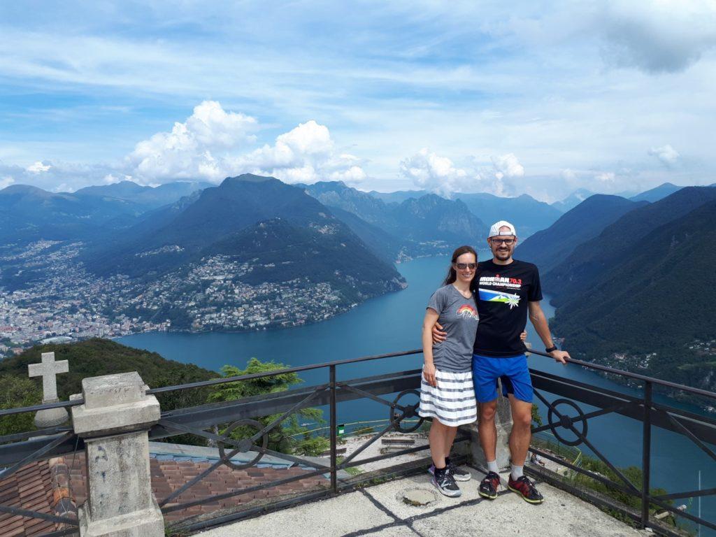 Blick San Salvatore Lugano Tessin Schweiz