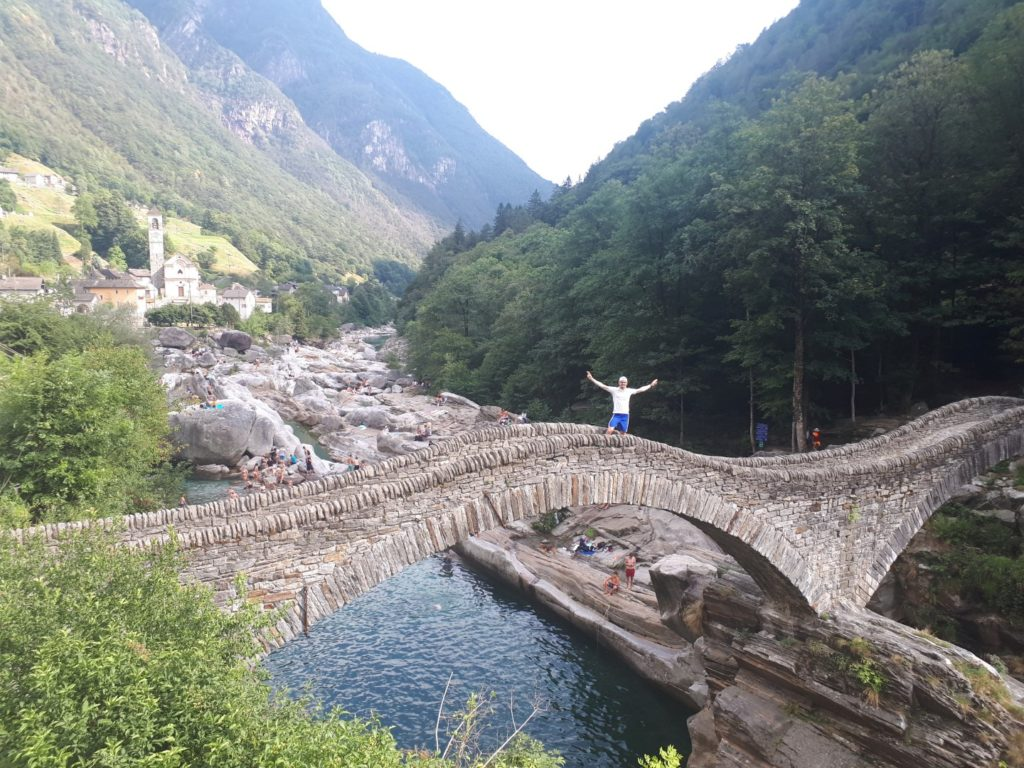 Ponte dei Salti Tessin Schweiz