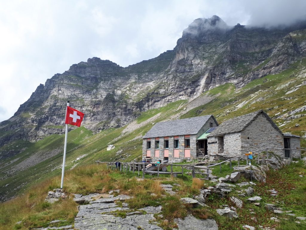 Rifugio Barone Tessin Schweiz