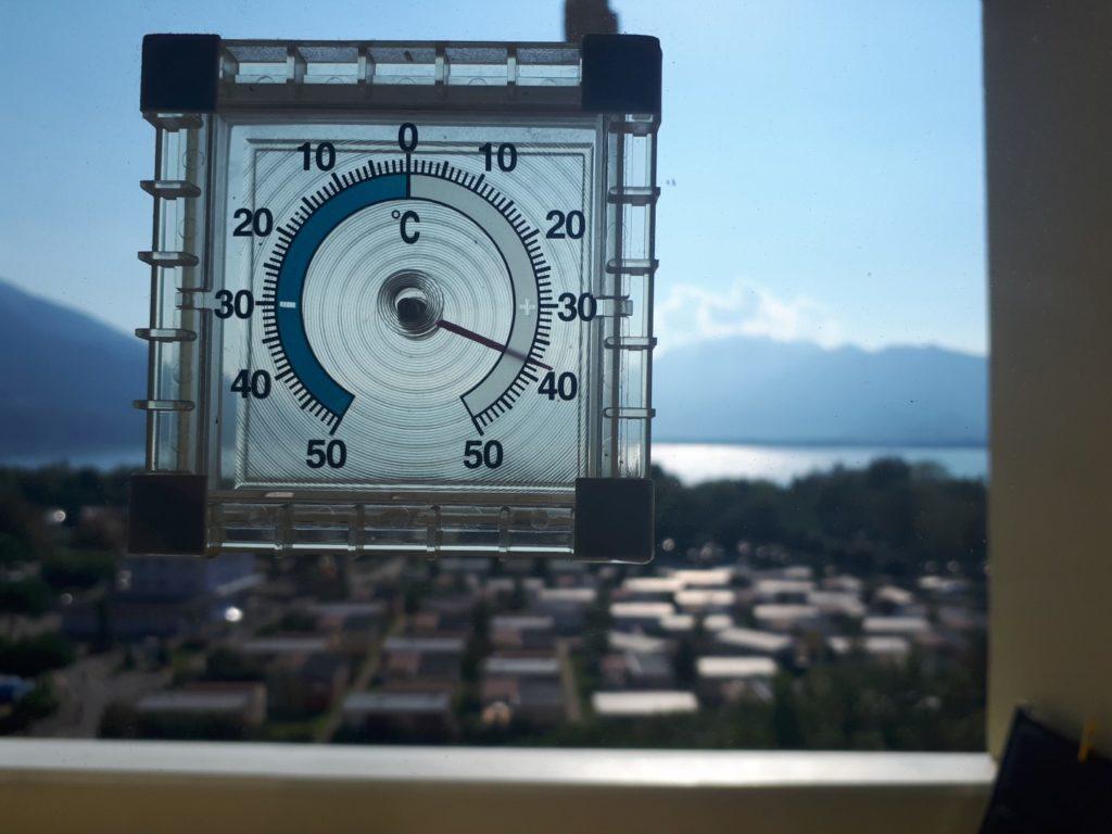 Temperatur Lago Maggiore Tessin Schweiz