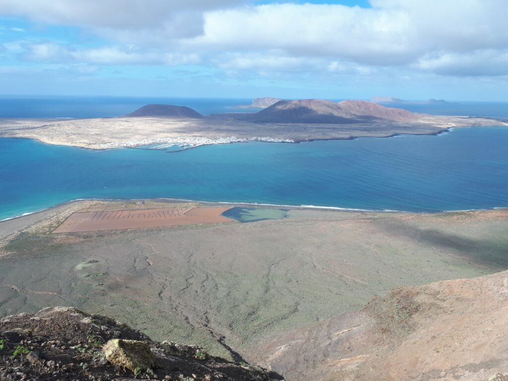 Aussicht La Graciosa Lanzarote Kanaren