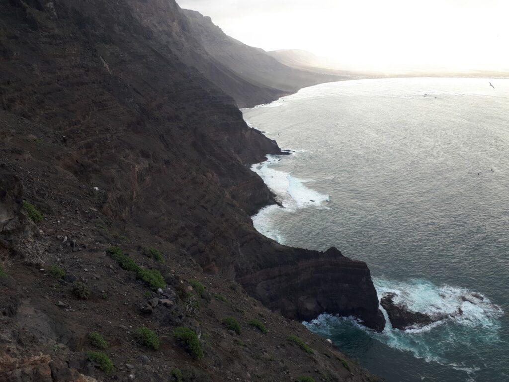 Camino Risco Famara Lanzarote Kanaren