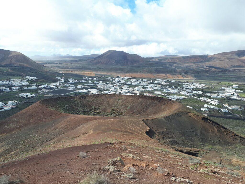 Vulkan Las Calderetas Guatiza Lanzarote Kanaren
