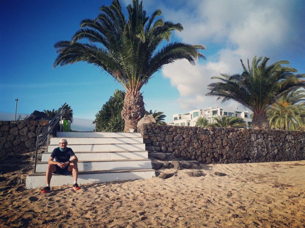 Strand Costa Teguise Lanzarote Kanaren
