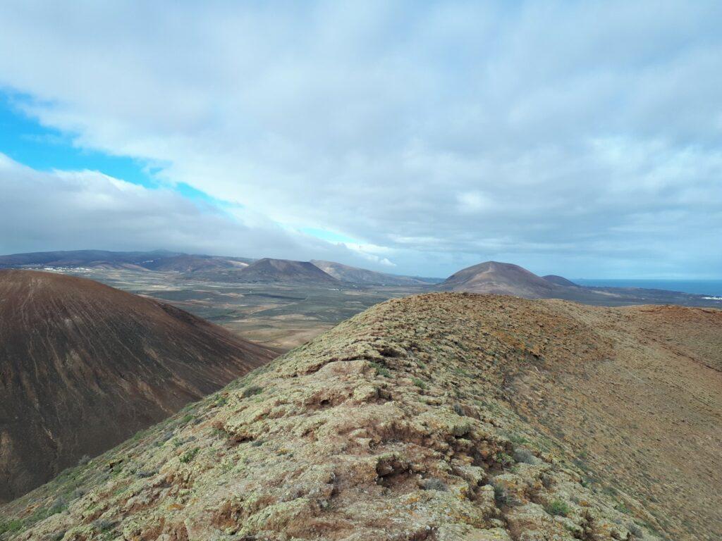 Vulkan Montana Tinaguache Lanzarote Kanaren