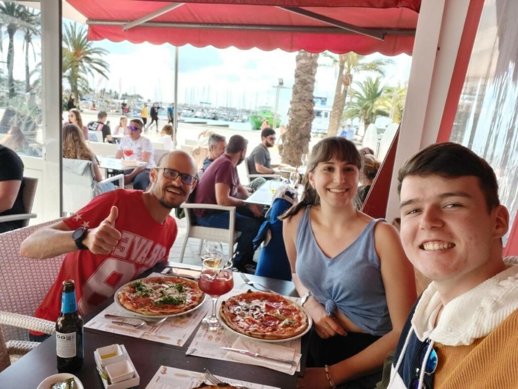 Pizza Restaurant Port d'Alcudia Mallorca