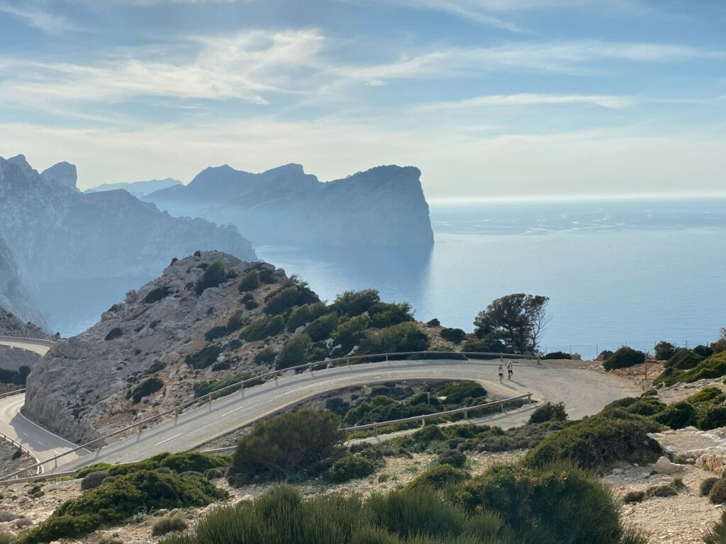 Läufer Cap Formentor Mallorca
