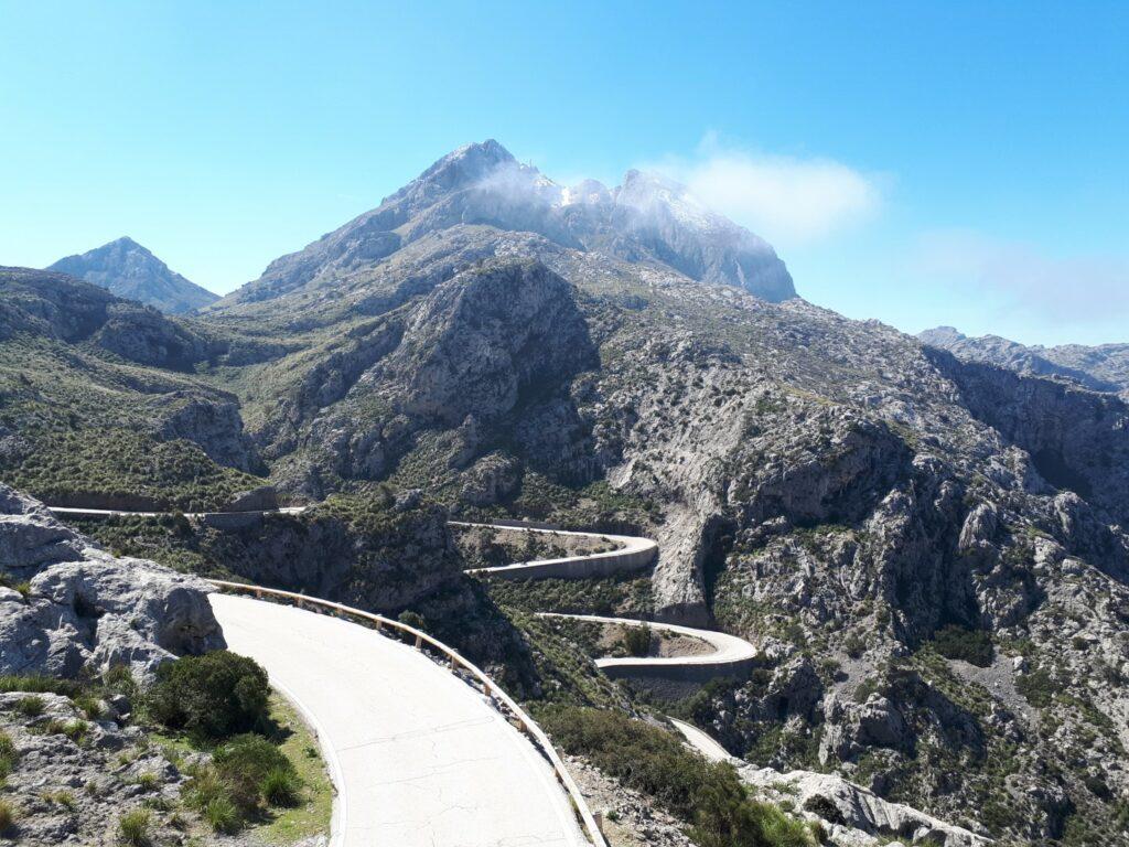 Sa Calobra Serpentinen Tramuntana Mallorca