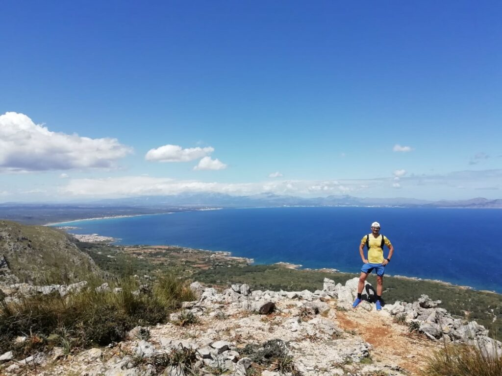 Aussicht Berg Naturpark Arta Mallorca