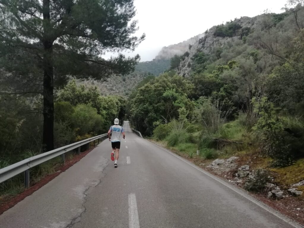 Tempolauf bergab Alaro Mallorca