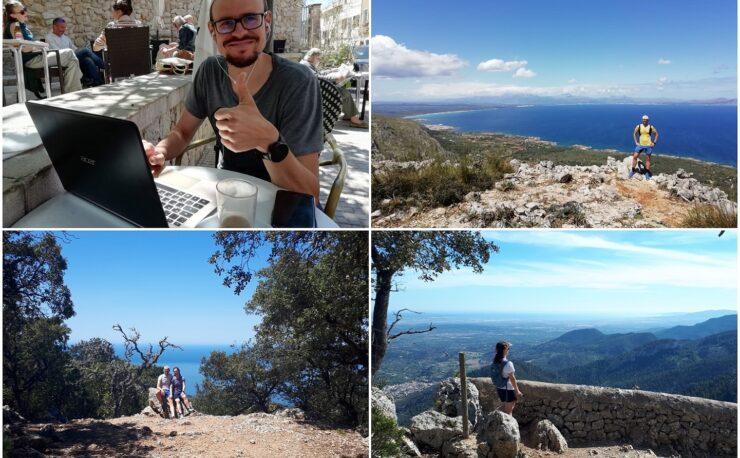 Wandern Hiking Urlaub Tramuntana Mallorca